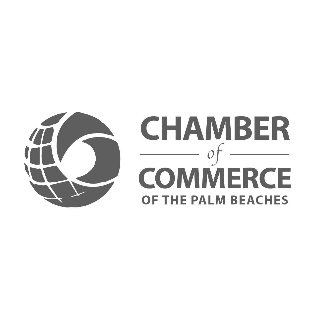 chamber of commerce palm beach logo