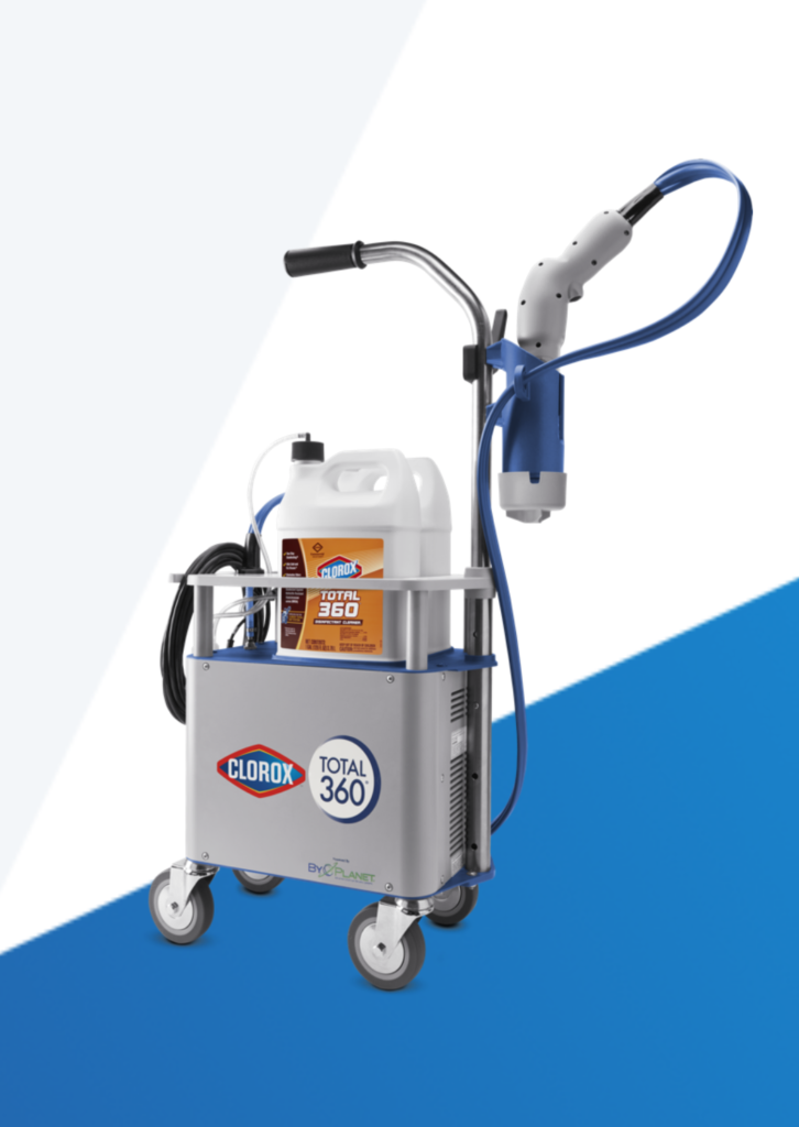 360 clorox sprayer